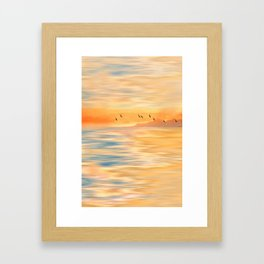Abendmelodie Framed Art Print