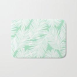 Areca Palm minimal tropical house plants minimalism art print zen chill decor Bath Mat