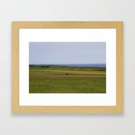 loner. Framed Art Print
