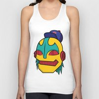 dope Tank Tops featuring Dope by The Dopest Robot