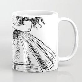 Alice in Wonderland Drink Me Bottle Transparent Background Coffee Mug