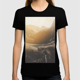 Is this real landscape photography T-shirt