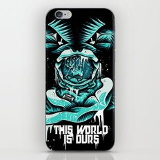 This World is ours iPhone & iPod Skin