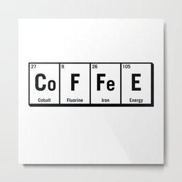 c.o.f.f.e.e Metal Print