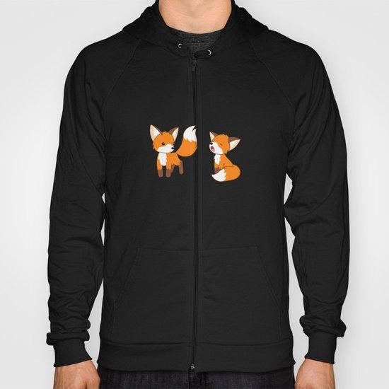 Cute Little Foxes Hoody