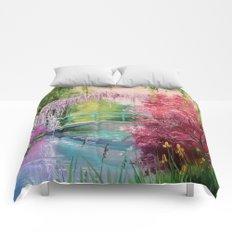 In the garden of Monet Comforters