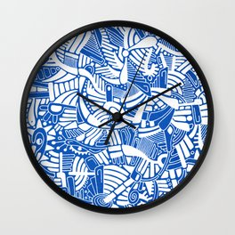 - the captain who fell with the blue angels - Wall Clock