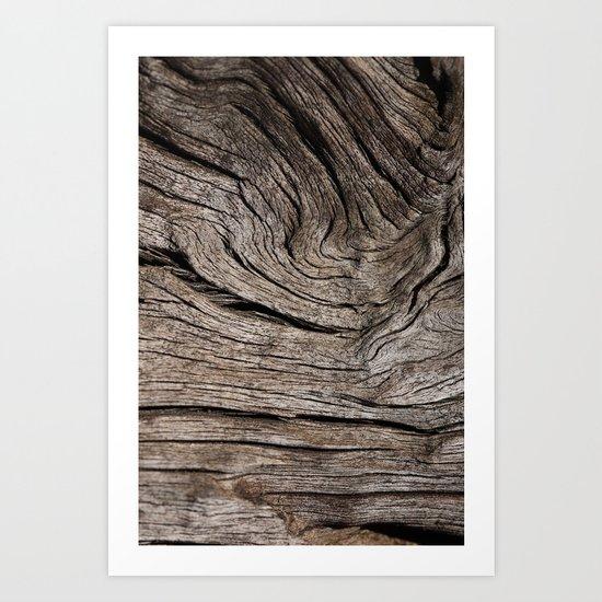 Wood VII Art Print