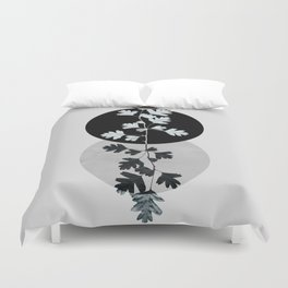 Geometry and Nature II Duvet Cover