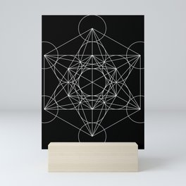 Sacred Geometry : Metatron's Cube / The Map of Creation Mini Art Print