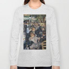 BAL DU MOULIN DE LA GALETTE - RENOIR Long Sleeve T-shirt