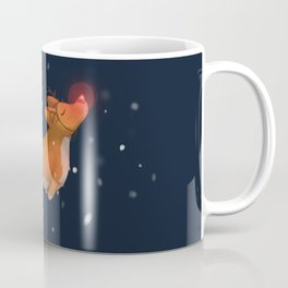 Rudolph, the Red Nosed Corgi Coffee Mug