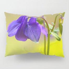 Purple Columbine In Spring Mood #decor #society6 #buyart Pillow Sham