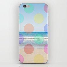 Polka Dot Beach  iPhone & iPod Skin