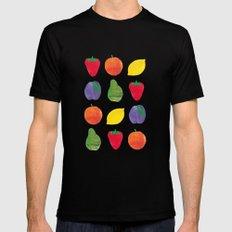 Fruits Black Mens Fitted Tee MEDIUM
