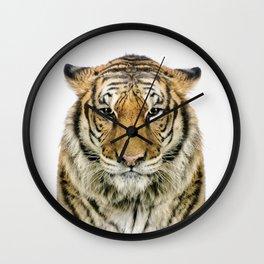 African Tiger Wall Clock
