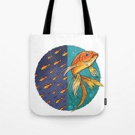 Goldfish & Goldfish School Tote Bag
