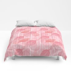 Boho Blush and Beads - Pink Comforters