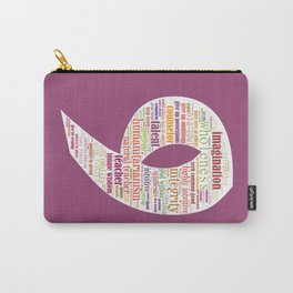 Life Path 9 (color background) Carry-All Pouch