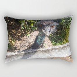 Getting A Little Cheeky Rectangular Pillow