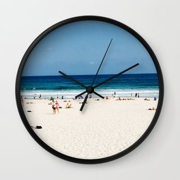 LETS GO TO THE BEACH Wall Clock