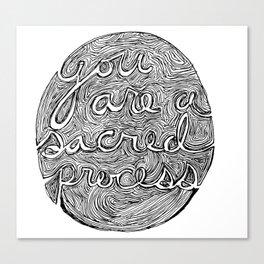 Macrocosmic Canvas Print