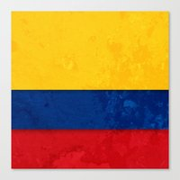 colombia Canvas Prints featuring Colombia by The Traveller, Wanderlust and Me