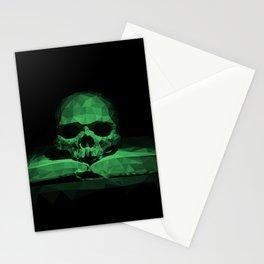 Memento mori - jungle green Stationery Cards