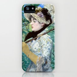 Jeanne (Spring) iPhone Case