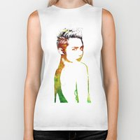 miley Biker Tanks featuring Miley Cyrus by Greg21
