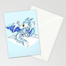 Baby Ice Wyvern Stationery Cards