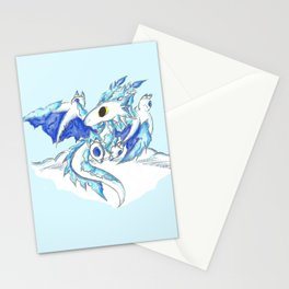 Baby Ice Wyvern Stationery Cards