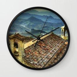 San Marino Wall Clock