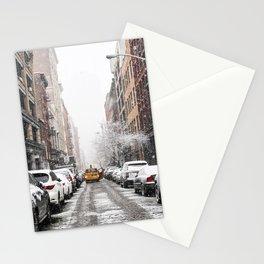 SoHo Snow Stationery Cards