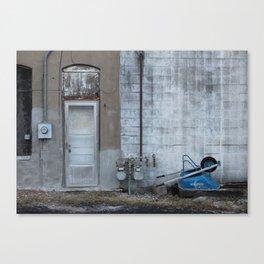Wheelbarrow Canvas Print