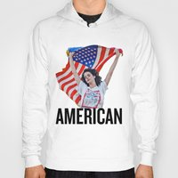 american Hoodies featuring American by Brandon Gendron