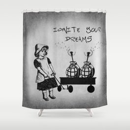 Ignite Your Dreams Shower Curtain