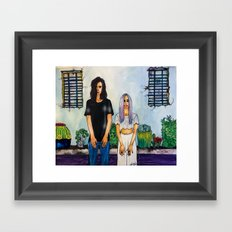 #GEMSBAND Watercolor & Copic Markers Painting, Music Lover's Art Framed Art Print