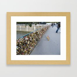 Those days in Paris (2) Framed Art Print
