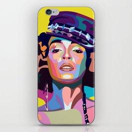 Janelle M iPhone Skin