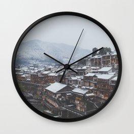 Fenghuang II Wall Clock