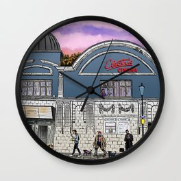 London Cinema Wall Clock