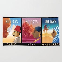 80 Days Beach Towel