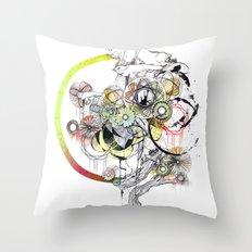bouquet 3 Throw Pillow
