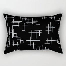 Bird Boy Pattern Rectangular Pillow