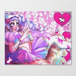 Menhera Nurse Canvas Print