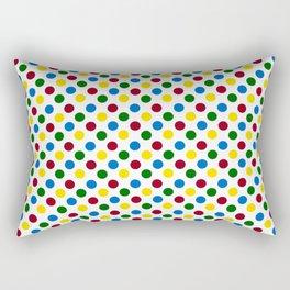 School Days Polka Dots Rectangular Pillow