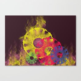 The ring of fire Canvas Print
