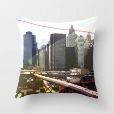 NY01 Throw Pillow