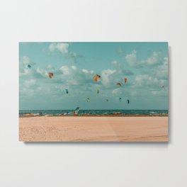 Kite Beach Metal Print